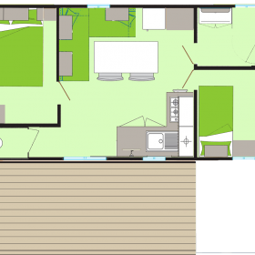 camping-mobil-home-bretagne-2-fleurs-5-personnes-plan