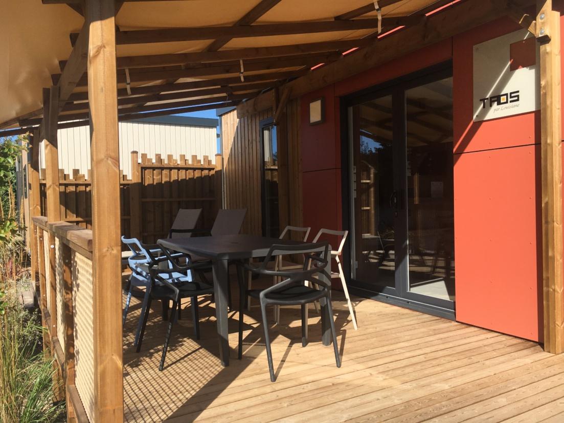 Cottage 6 personnes terrasse